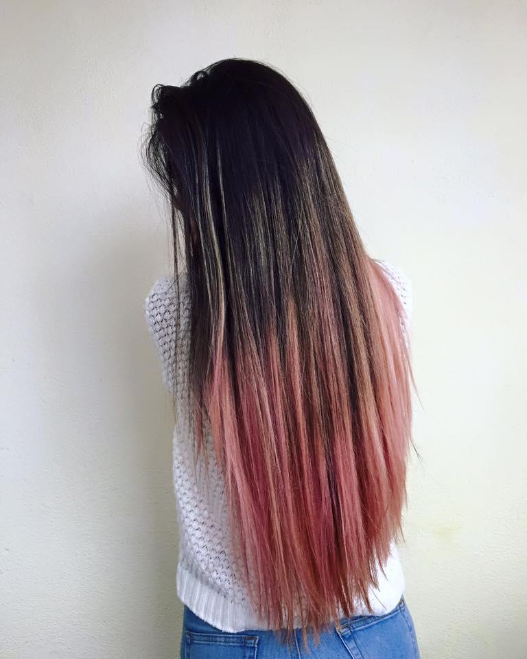 ombre roz
