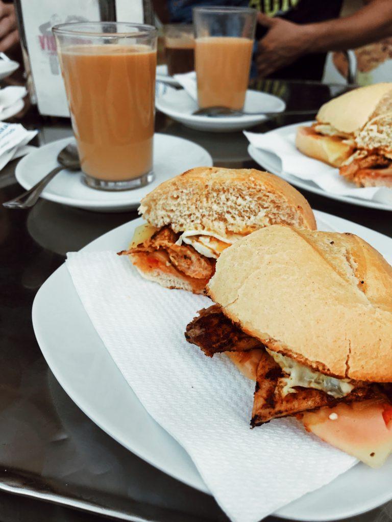 mic dejun Malaga