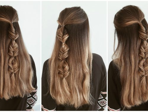 impletitura coada de peste fishtail braid