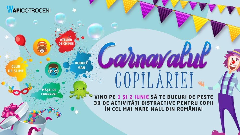 carnavalul copilariei AFI Cotroceni